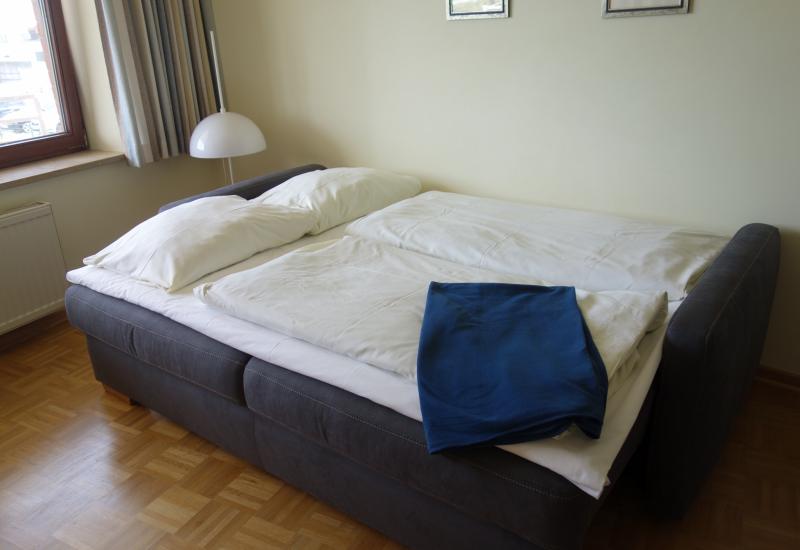Sofa als Bett